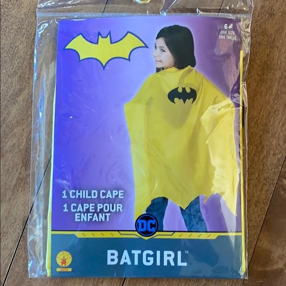 New kids bat girl / batman cape